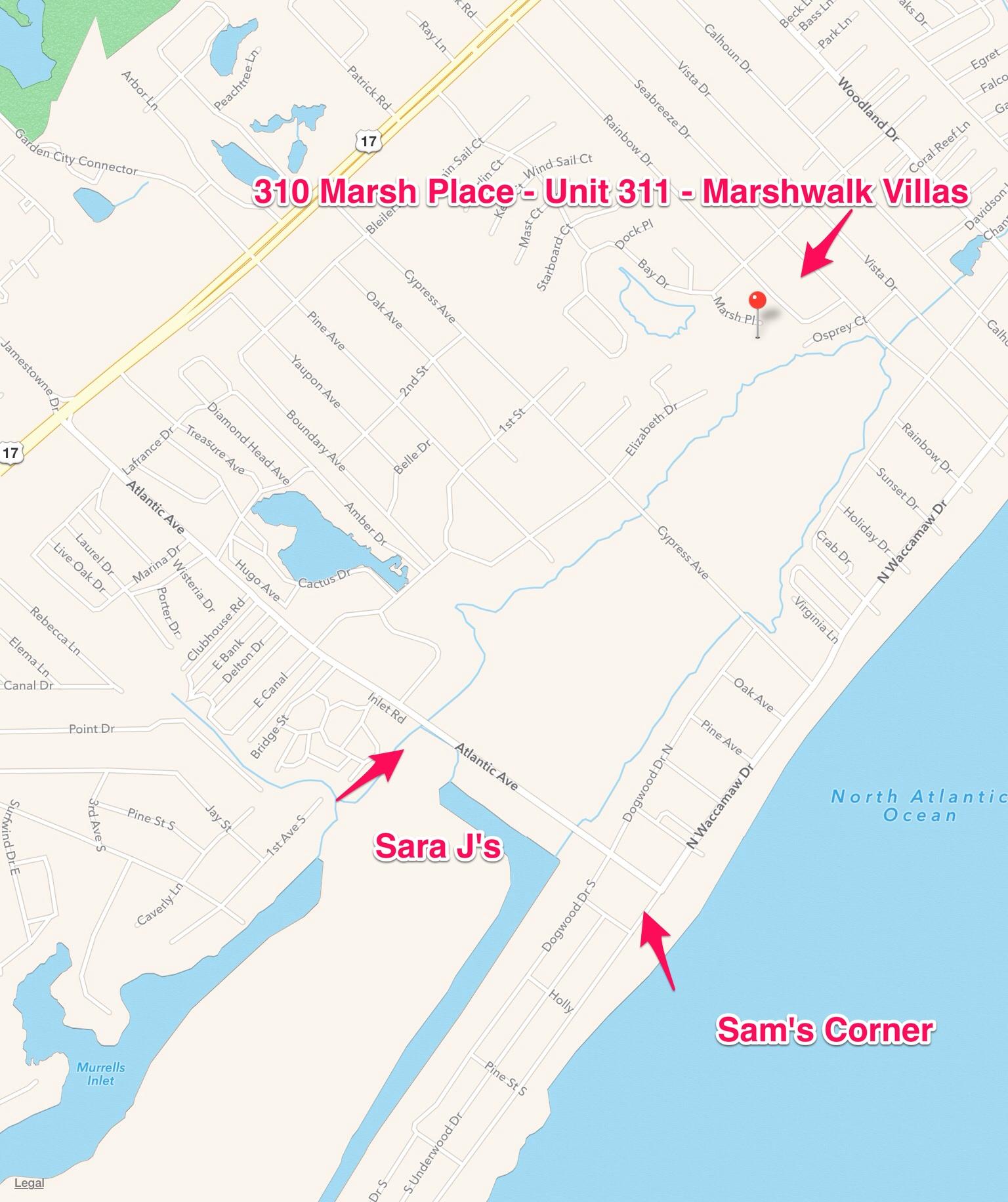 311 Marshwalk Villas