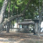 Surfside Beach park gazebo