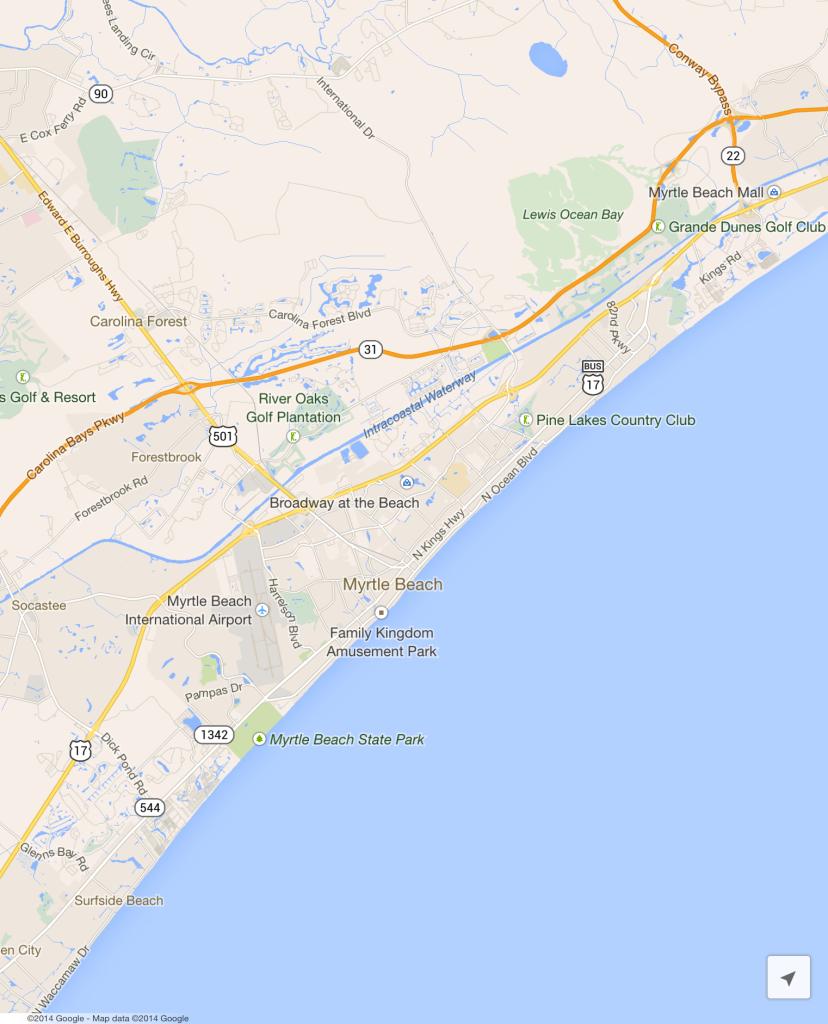 Myrtle Beach Map